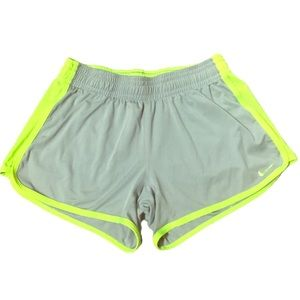 Nike dri fit neon detail shorts